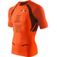 X-Bionic M's The Trick Running Shirt SS Orange Sunshine/Black